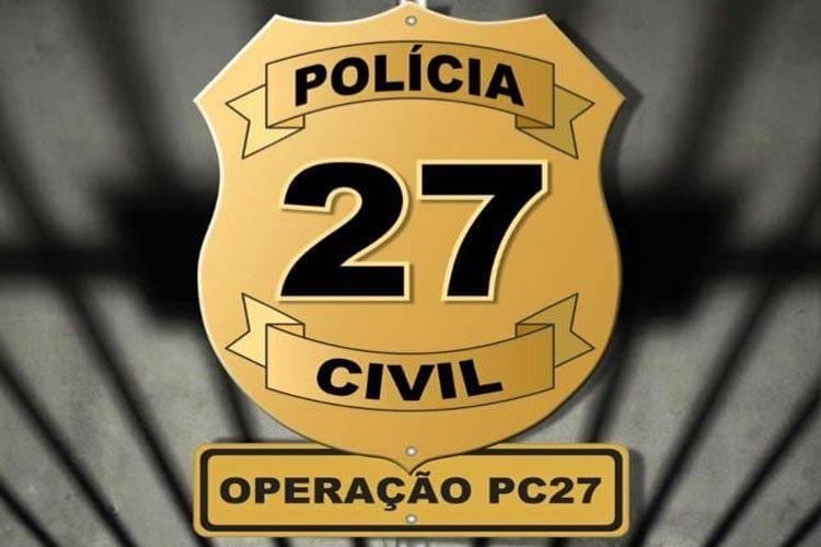 #PC27: Três são presos em Livramento e um em Brumado suspeitos de mortes e estupros em operação nacional