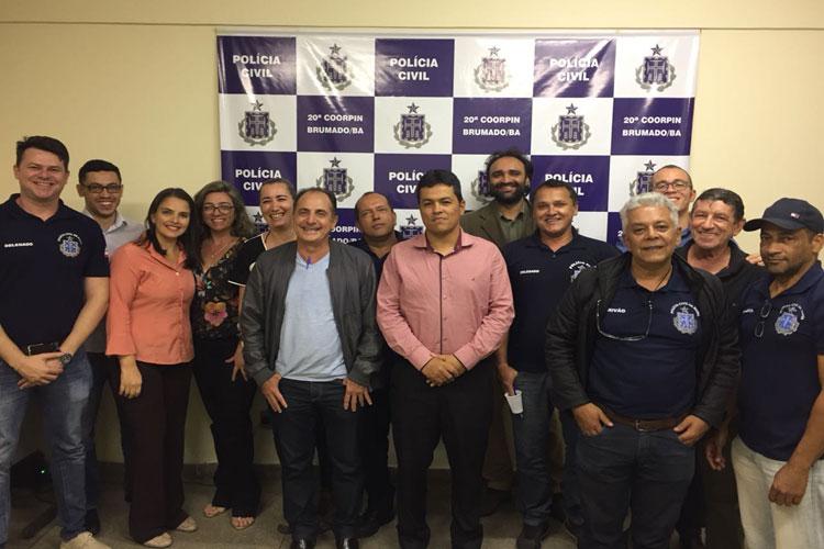 Polícia Civil e Cejusc promovem ciclo de valorização e desenvolvimento profissional em Brumado