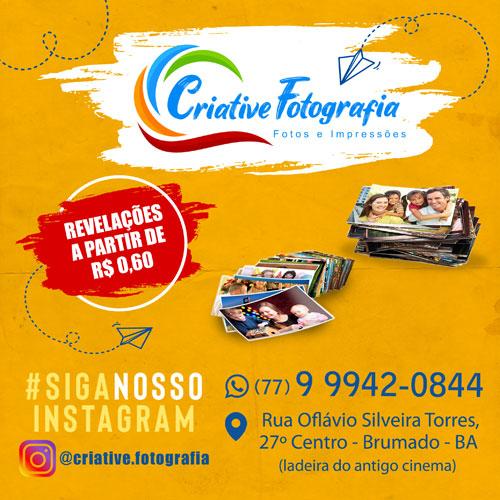 Revele suas fotos na Criative Fotografia em Brumado