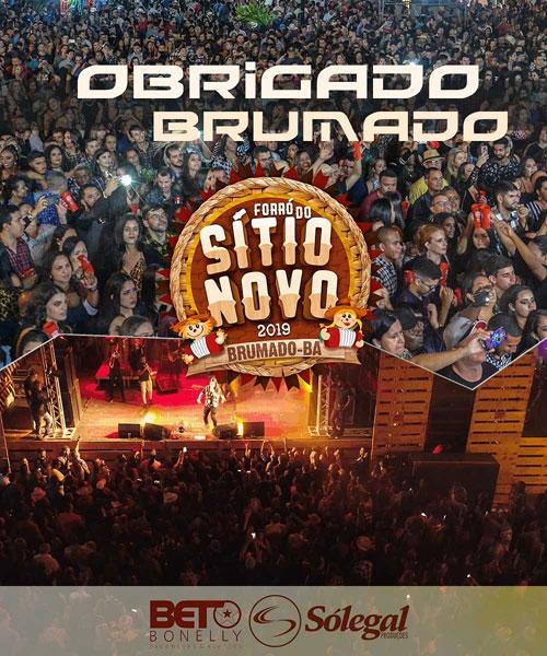 Brumado: Forró do Sítio Novo 2019 se consolida mais uma vez como a melhor festa da região