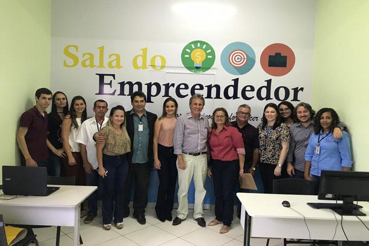 Inaugurada Sala do Empreendedor em Dom Basílio