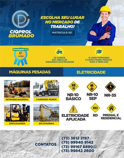 Escola técnica oferece curso para manuseio de máquinas e eletricidade em Brumado