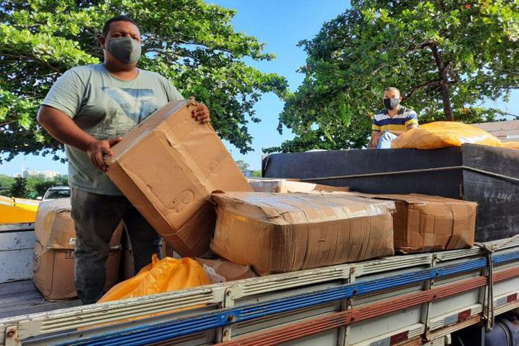 Governo da Bahia entrega mais de 94 mil máscaras para municípios da região sudoeste