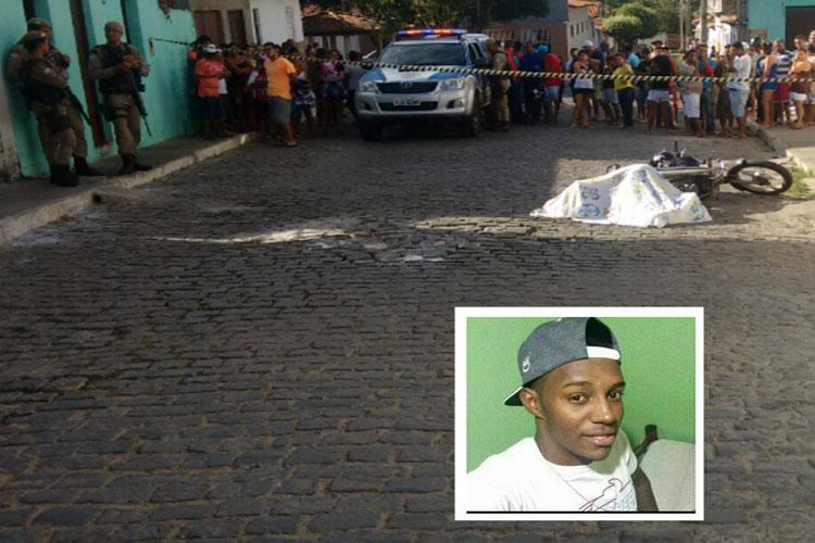 Mototaxista é executado na manhã desta quinta-feira (20) em Brumado