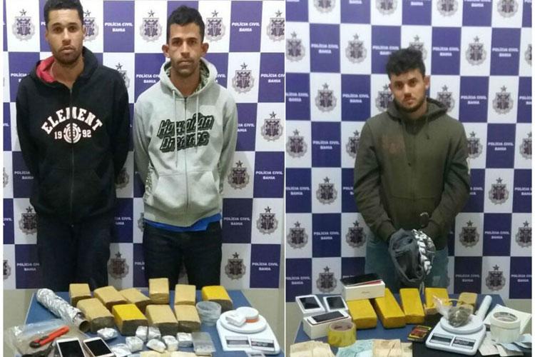 Vitória da Conquista: Universitários são presos em flagrante por suspeita de tráfico de drogas