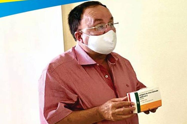 Candiba: MP-BA e MPF acionam por improbidade prefeito que 'furou' fila da vacinação da Covid-19