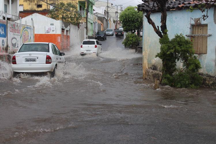 Choveu 115 mm em Brumado e meteorologia ainda prevê possíveis pancadas de chuva na semana