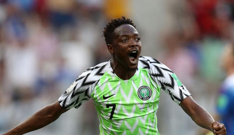 Musa faz dois gols, Nigéria vence Islândia e ajuda a Argentina