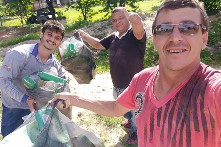 Mutirão contra arboviroses recolhe toneladas de lixo com focos do aedes aegypti em Brumado