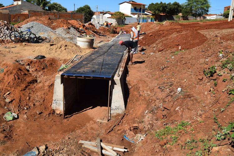 Brumado: Galeria no acesso ao Ifba beneficiará também a Rua Padre Cícero