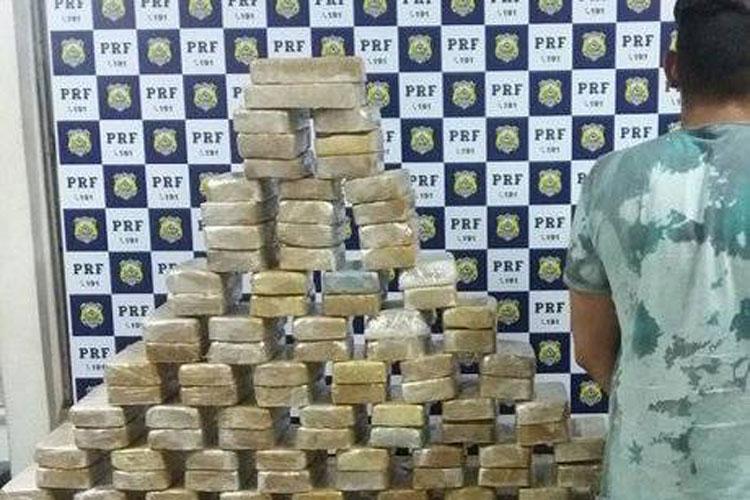 Homem é preso com 100 quilos de crack em Vitória da Conquista