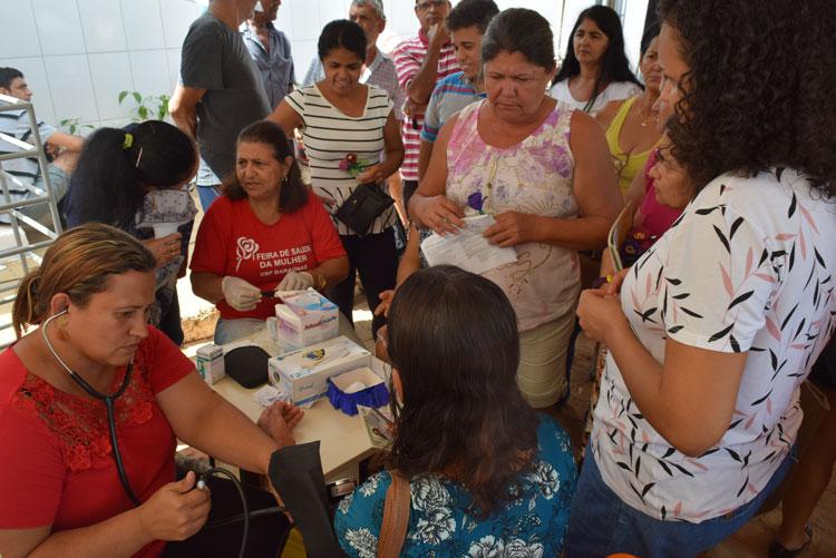 Brumado: UBS Marcionílio Rodrigues promove I Feira de Saúde em alusão ao mês das mulheres