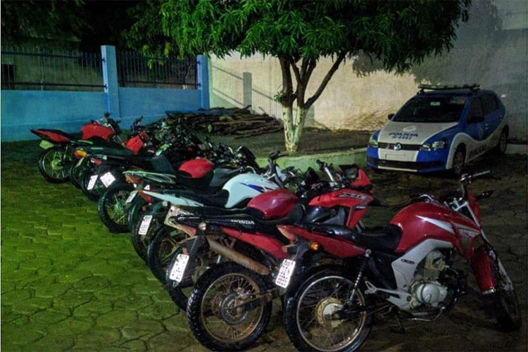 Livramento: PM apreende 11 motocicletas com descargas adulteradas durante Missa dos Motoqueiros