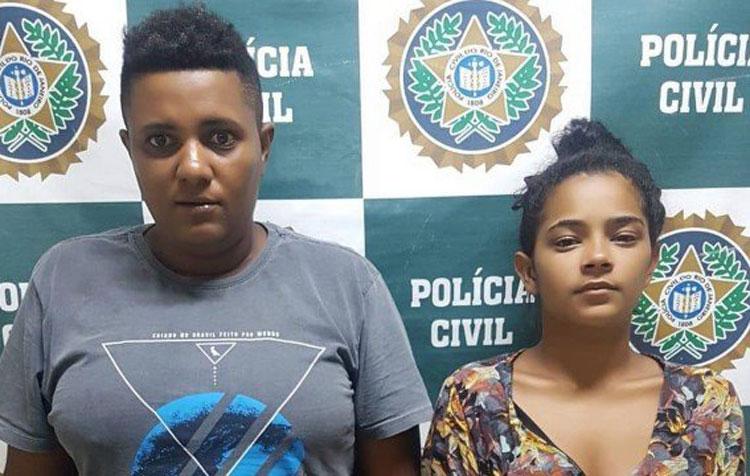 Mãe e companheira são presas suspeitas de espancar criança de 2 anos e 11 meses