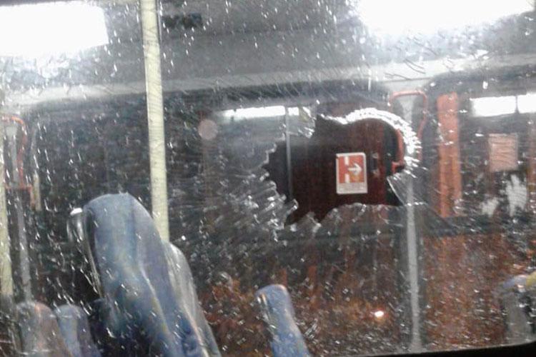 Brumado: Ônibus do transporte coletivo é alvo de tiros no Bairro Urbis II