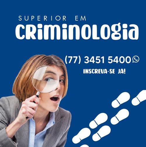 Conheça o curso de Criminologia da Unopar de Brumado