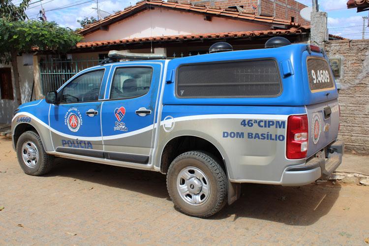 Homem alcoolizado agride companheira com socos na zona rural de Dom Basílio