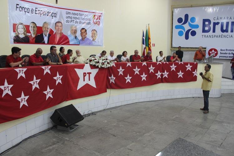 Partido dos Trabalhadores realiza evento de posse de novos presidentes de diretórios regionais em Brumado