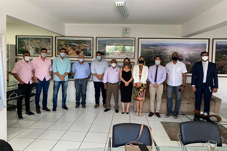 Prefeito de Itaberaba visita Escolas de Tempo Integral de Brumado