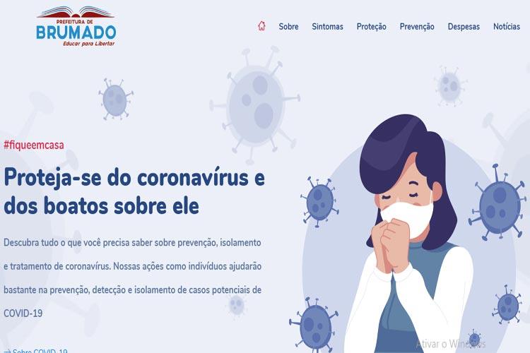 Prefeitura de Brumado cria canal de comunicação todo dedicado a informações sobre a Covid-19