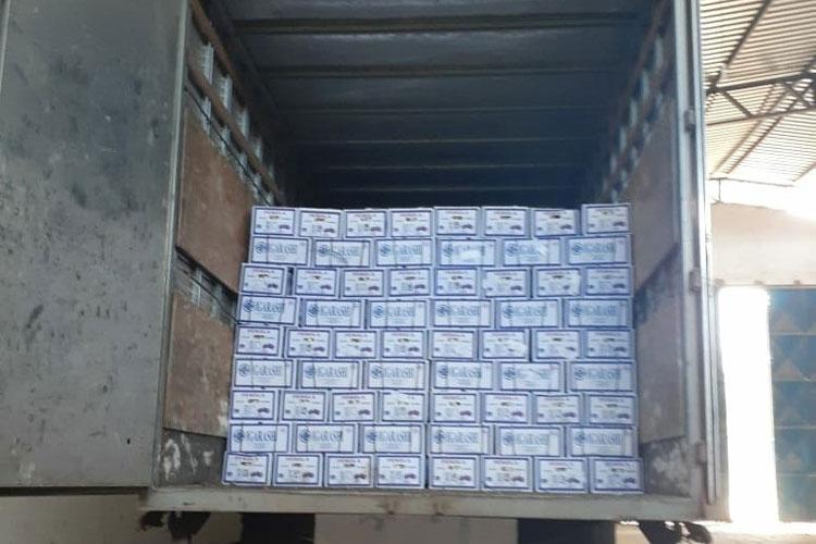 Caetité: Polícia Militar recupera carga roubada avaliada em mais de R$ 100 mil