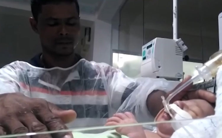 Vitória da Conquista: Recém-nascido com problema no coração espera por cirurgia urgente