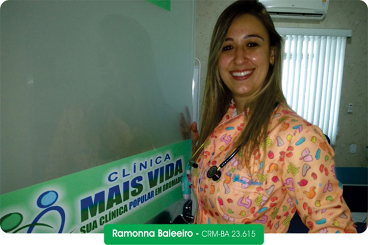 Pediatra Ramonna Baleeiro - Excelência em atendimento na Clínica Mais Vida