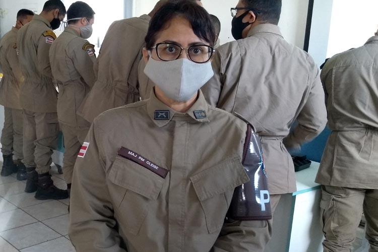 Livramento de Nossa Senhora: Candidatos e comunidade precisam se conscientizar dos riscos da pandemia, alerta Major