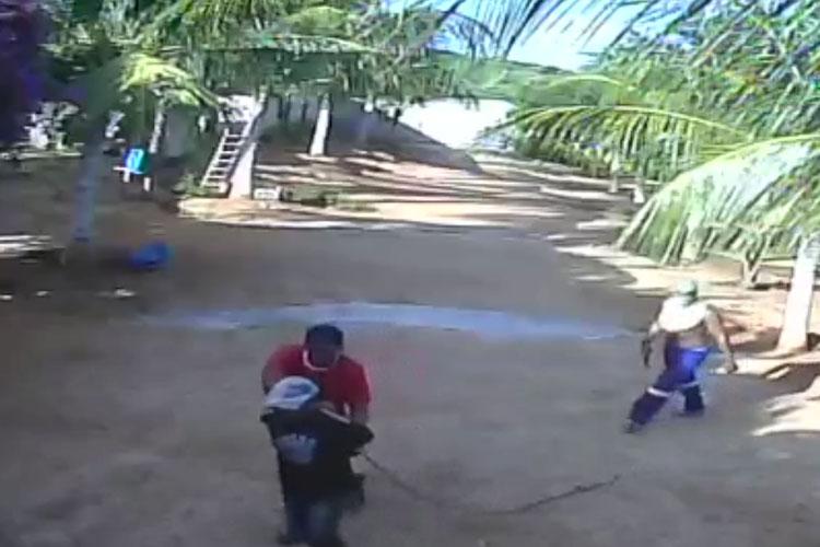 Caseiro é amarrado e torturado por assaltantes em Brumado
