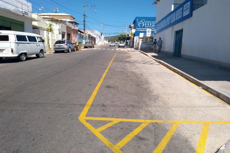 Brumado: SMTT esclarece sinalização e fará acertos em frente a Escola Zilda Neves