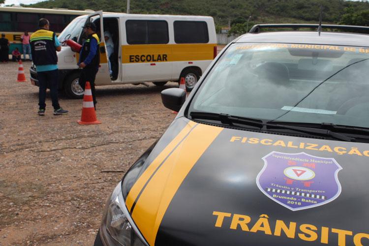SMTT inicia vistoria no transporte escolar público e particular de Brumado