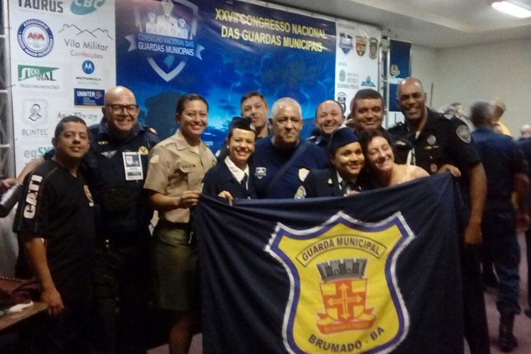 Brumado: GCM participa do XXVII Congresso Nacional de Guardas Municipais