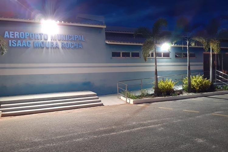 Aeroporto Isaac Moura Rocha em Guanambi recebe certificação da Anac