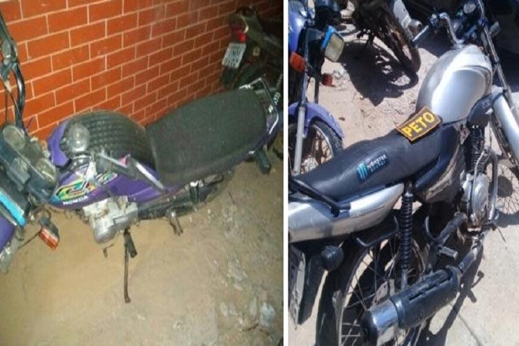 Brumado: Polícia Militar apreende motocicleta com restrições