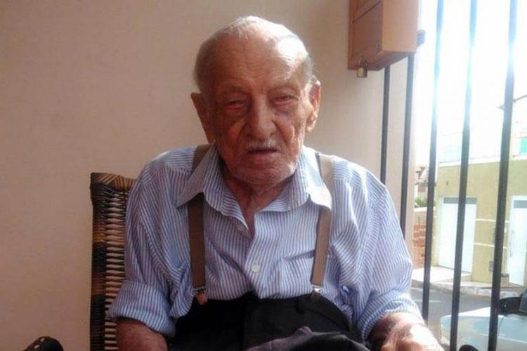Cidadão mais velho de Caculé morre aos 108 anos