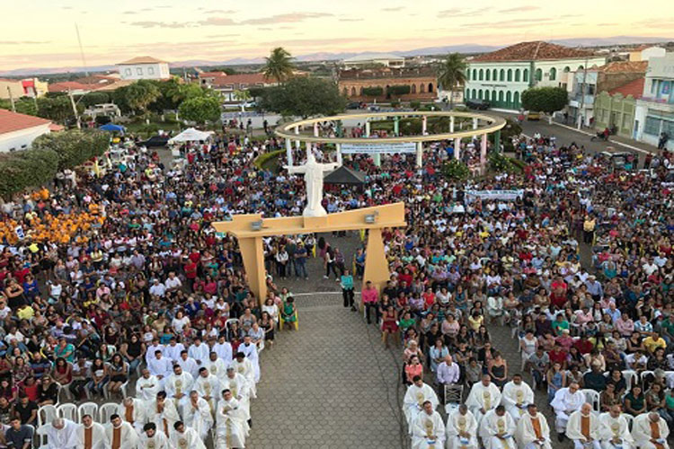 Diocese de Livramento de Nossa Senhora celebra o Jubileu de Ouro