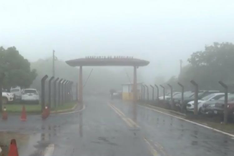 Voos do aeroporto de Barreiras são cancelados por causa de mau tempo