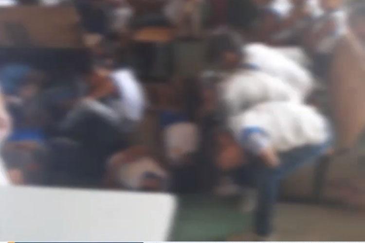 Itabuna: Alunos de escola abaixam para evitar tiros