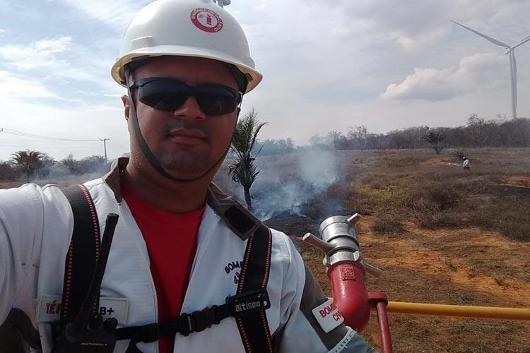 Brumado: Bombeiro reforça orientação de segurança com manutenção de gás de cozinha
