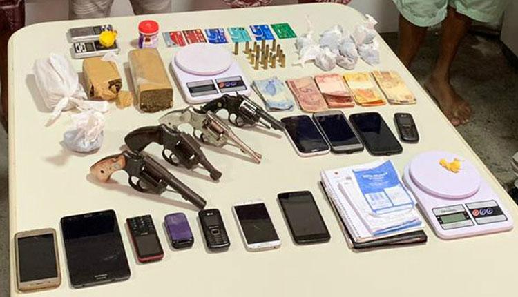 Seis são presos suspeitos de participar de esquema de 'drogas delivery' no sudoeste baiano