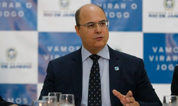 Governador do Rio de Janeiro é alvo de ação da PF sobre desvio de verbas contra a Covid-19