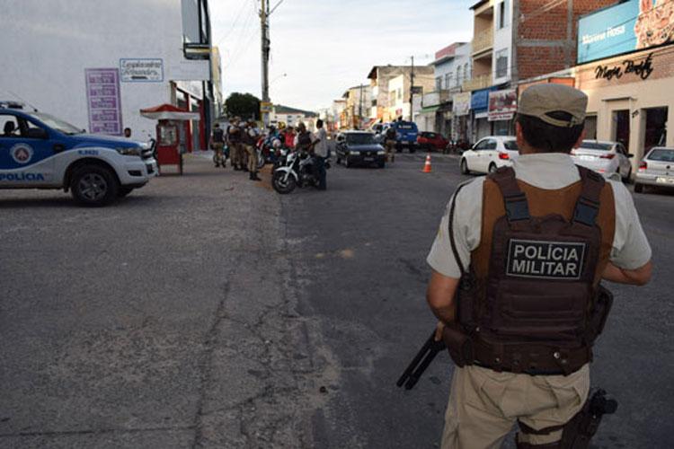 34ª CIPM garante policiamento e segurança nas ruas de Brumado