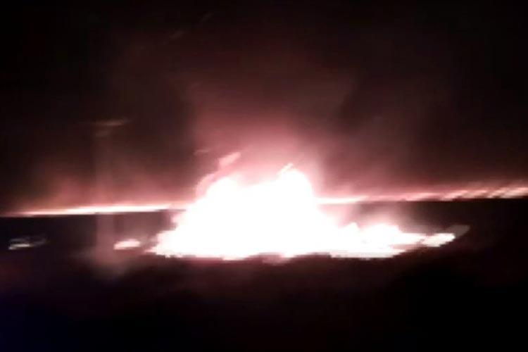 Barra: Incêndio atinge vegetação há seis dias e 30 hectares foram queimados
