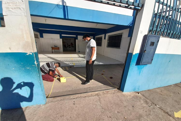 Brumado/BA: Escolas estão sendo preparadas para receber professores e alunos no retorno às aulas