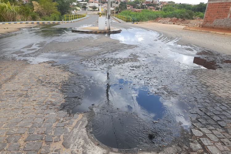 Brumado: Embasa aponta mau uso do sistema de esgotamento sanitário na região do Bairro São Jorge