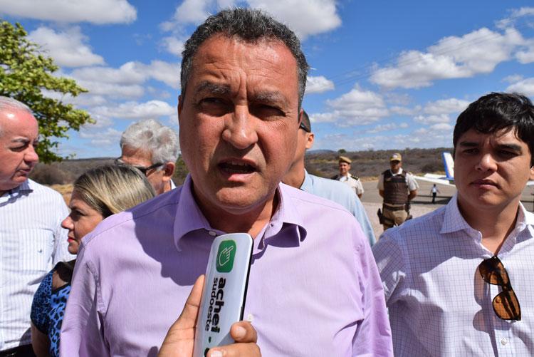 Brumado: Elevação da Barragem de Cristalândia é orçada em R$ 20 milhões, diz Rui Costa