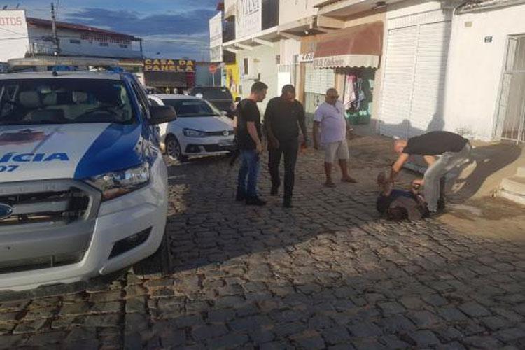 Acusado de realizar sequestro em Brumado é preso em São Félix do Coribe