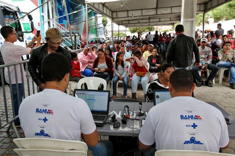 Feira Cidadã: Mais de 10 mil atendimentos gratuitos em serviços de saúde foram realizados em Caetité