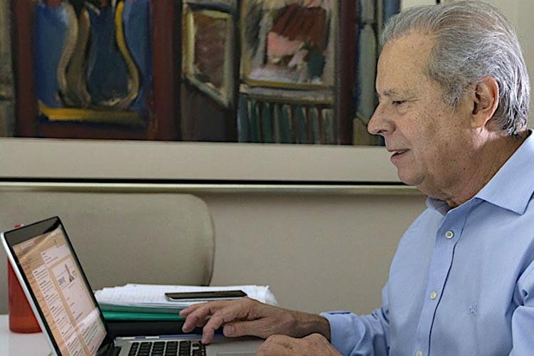 José Dirceu divulgará o seu livro em evento na cidade de Guanambi