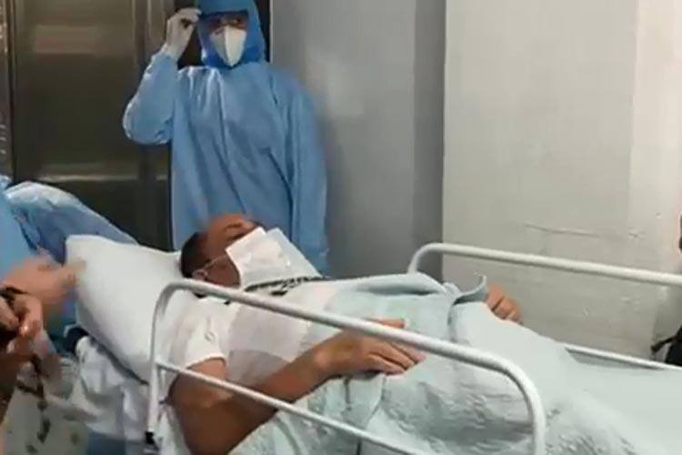 Empresário brumadense vence a Covid-19 e é recepcionado por familiares após receber alta hospitalar
